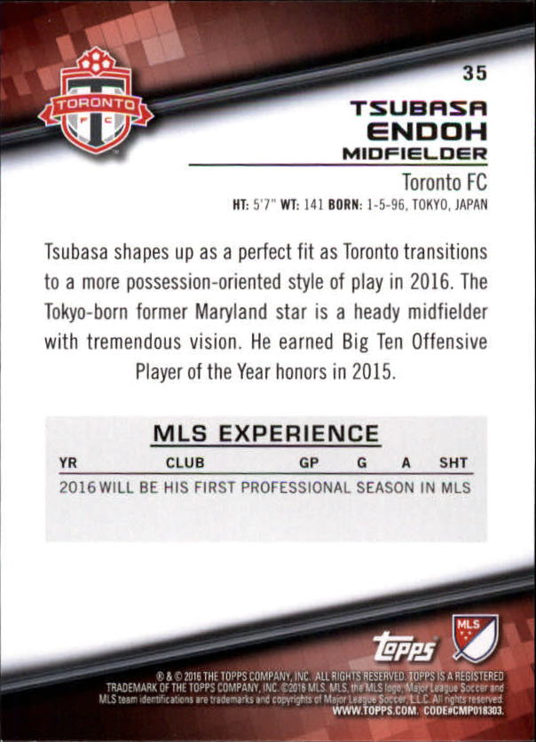 2016-Topps-MLS-Soccer-Base-Singles-Pick-Your-Cards thumbnail 37