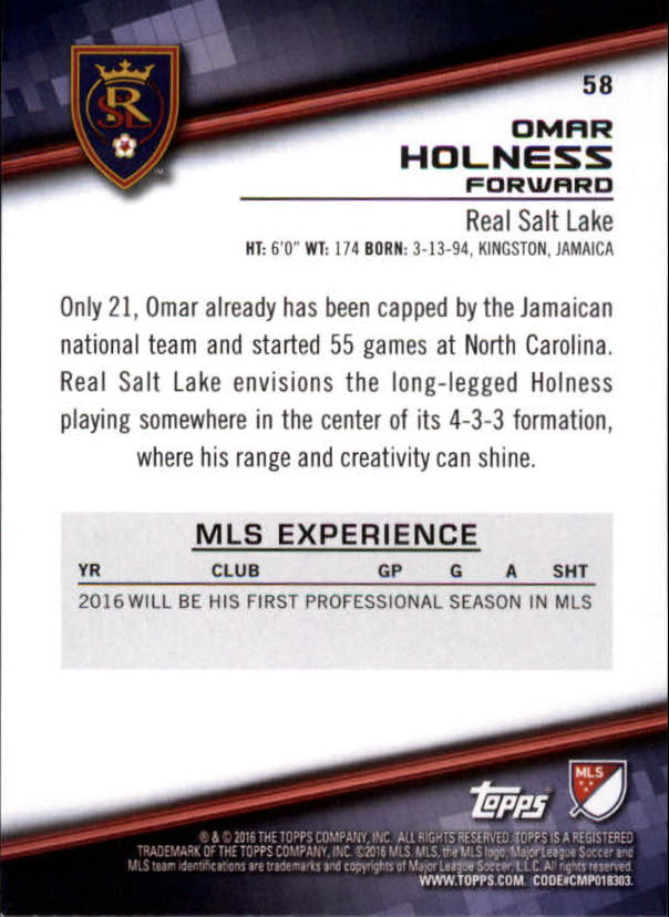 2016-Topps-MLS-Soccer-Base-Singles-Pick-Your-Cards thumbnail 63
