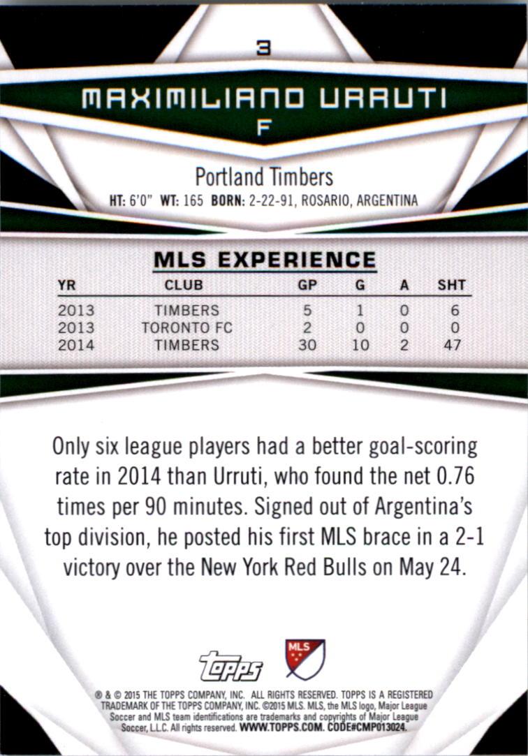 2015-Topps-MLS-Soccer-Base-Singles-Pick-Your-Cards thumbnail 3