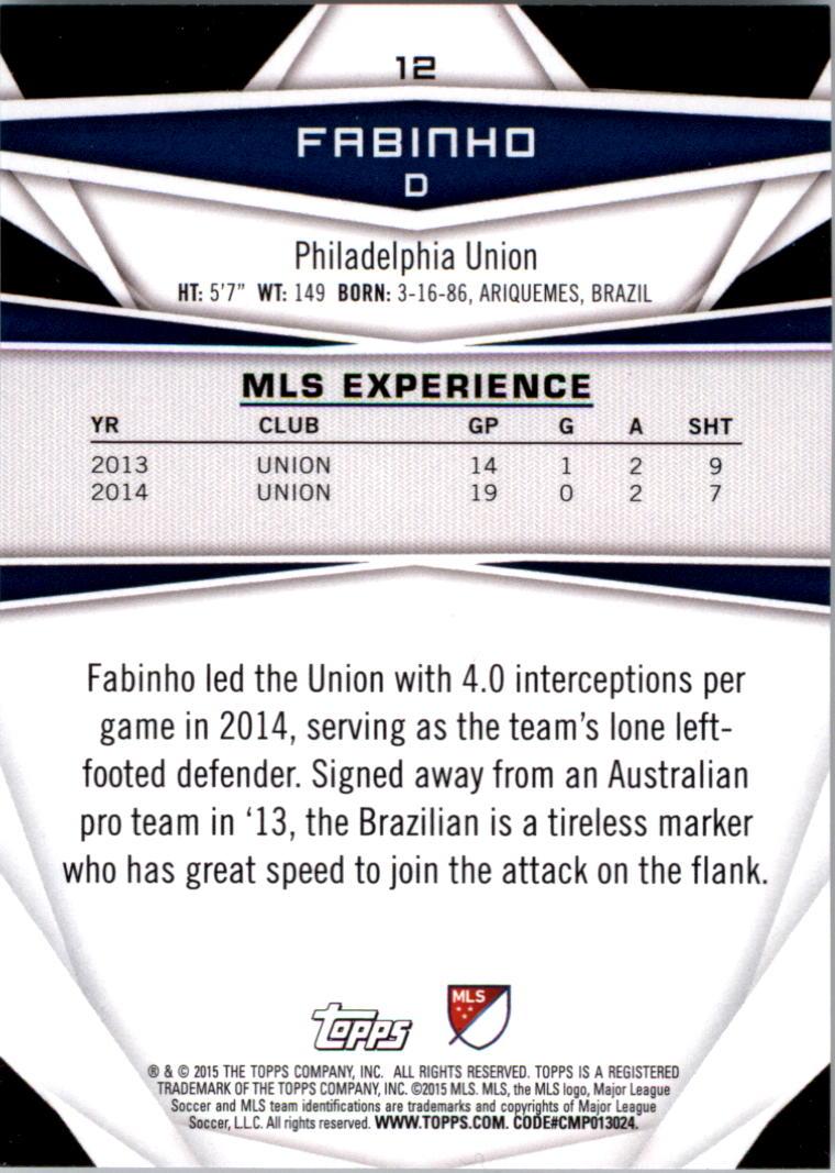 2015-Topps-MLS-Soccer-Base-Singles-Pick-Your-Cards thumbnail 9