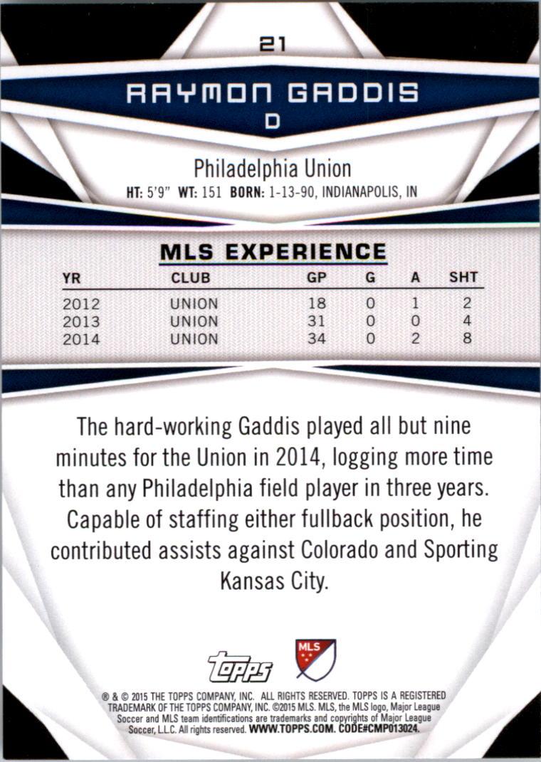 2015-Topps-MLS-Soccer-Base-Singles-Pick-Your-Cards thumbnail 23