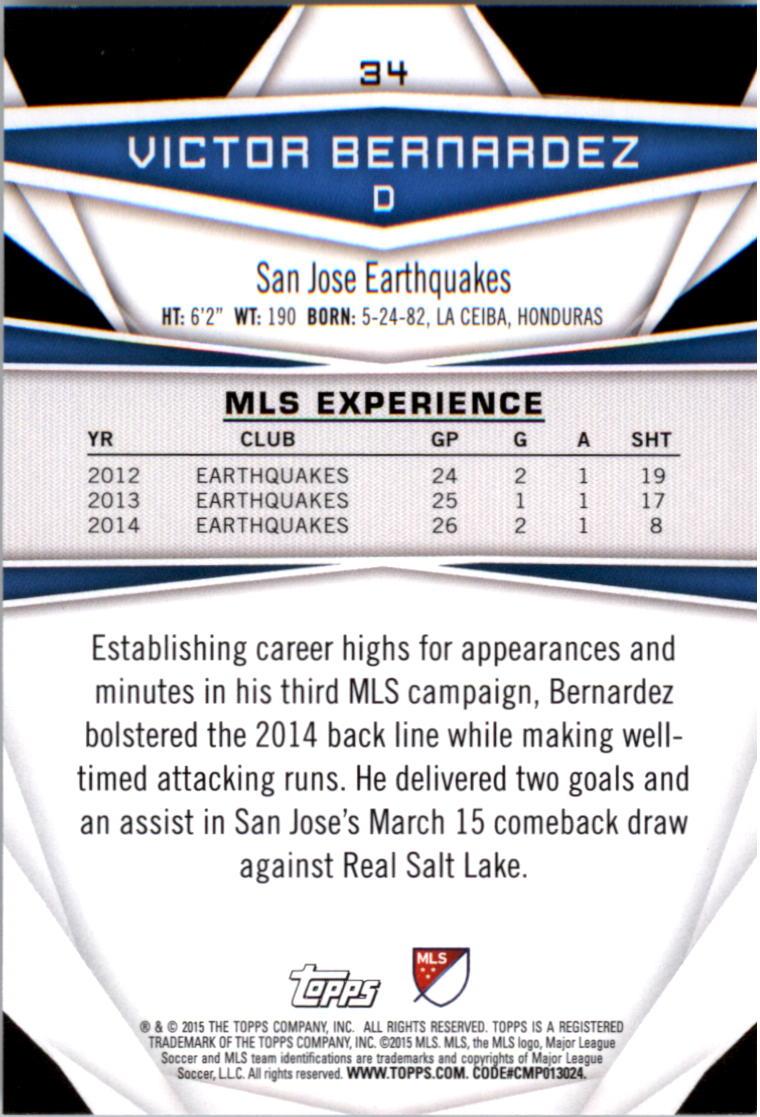 2015-Topps-MLS-Soccer-Base-Singles-Pick-Your-Cards thumbnail 43