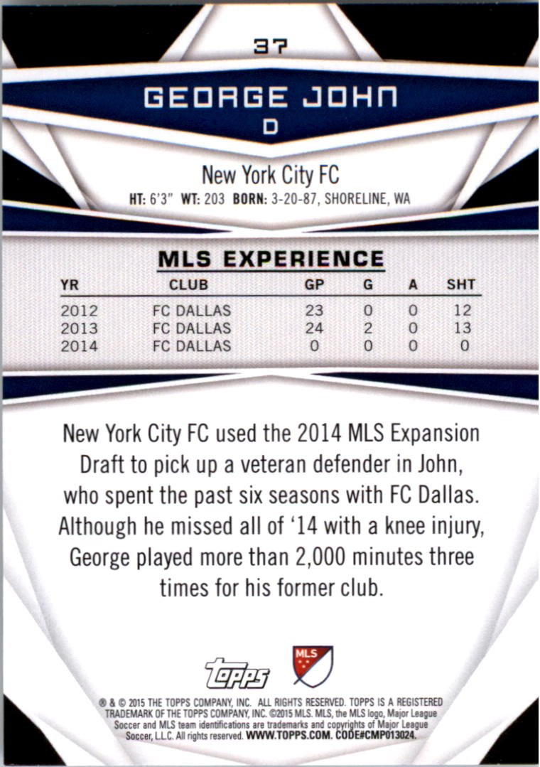 2015-Topps-MLS-Soccer-Base-Singles-Pick-Your-Cards thumbnail 49