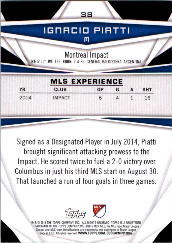 2015-Topps-MLS-Soccer-Base-Singles-Pick-Your-Cards thumbnail 51