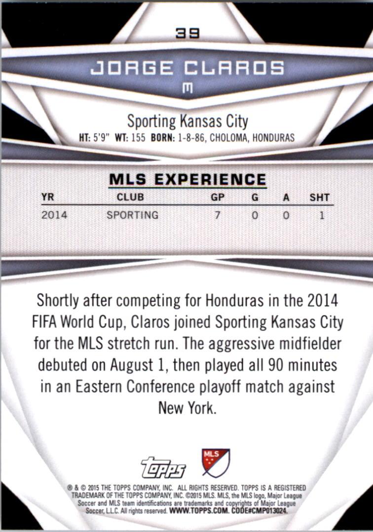 2015-Topps-MLS-Soccer-Base-Singles-Pick-Your-Cards thumbnail 53