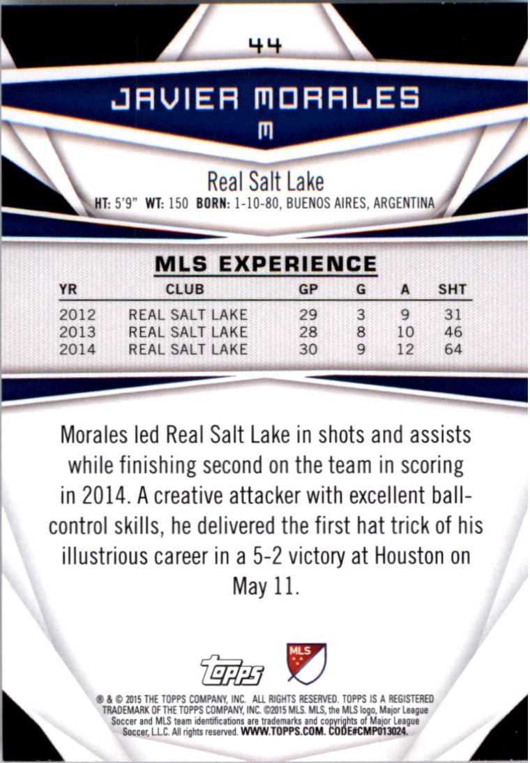 2015-Topps-MLS-Soccer-Base-Singles-Pick-Your-Cards thumbnail 59