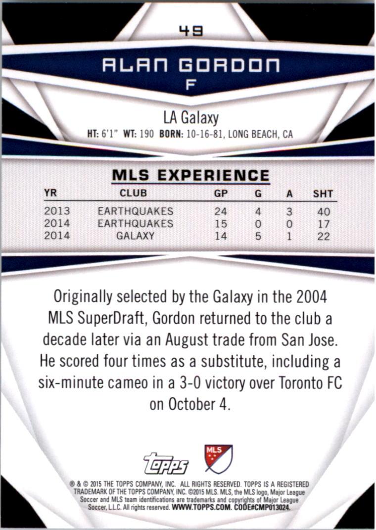 2015-Topps-MLS-Soccer-Base-Singles-Pick-Your-Cards thumbnail 67