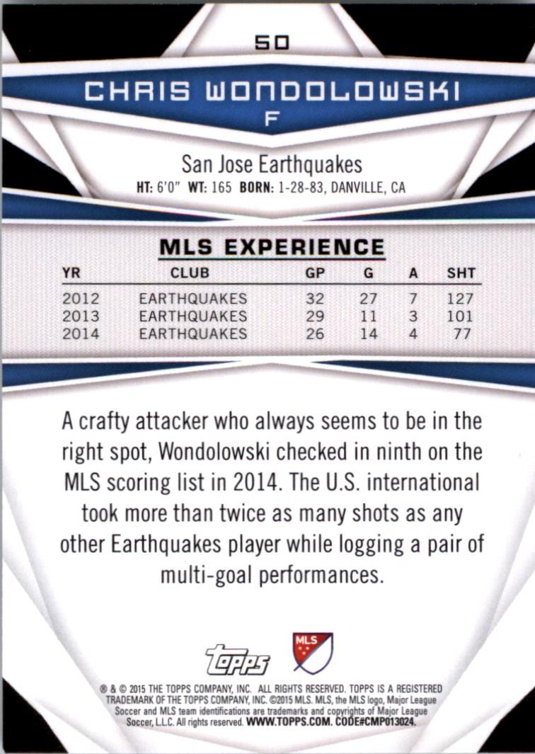 2015-Topps-MLS-Soccer-Base-Singles-Pick-Your-Cards thumbnail 69