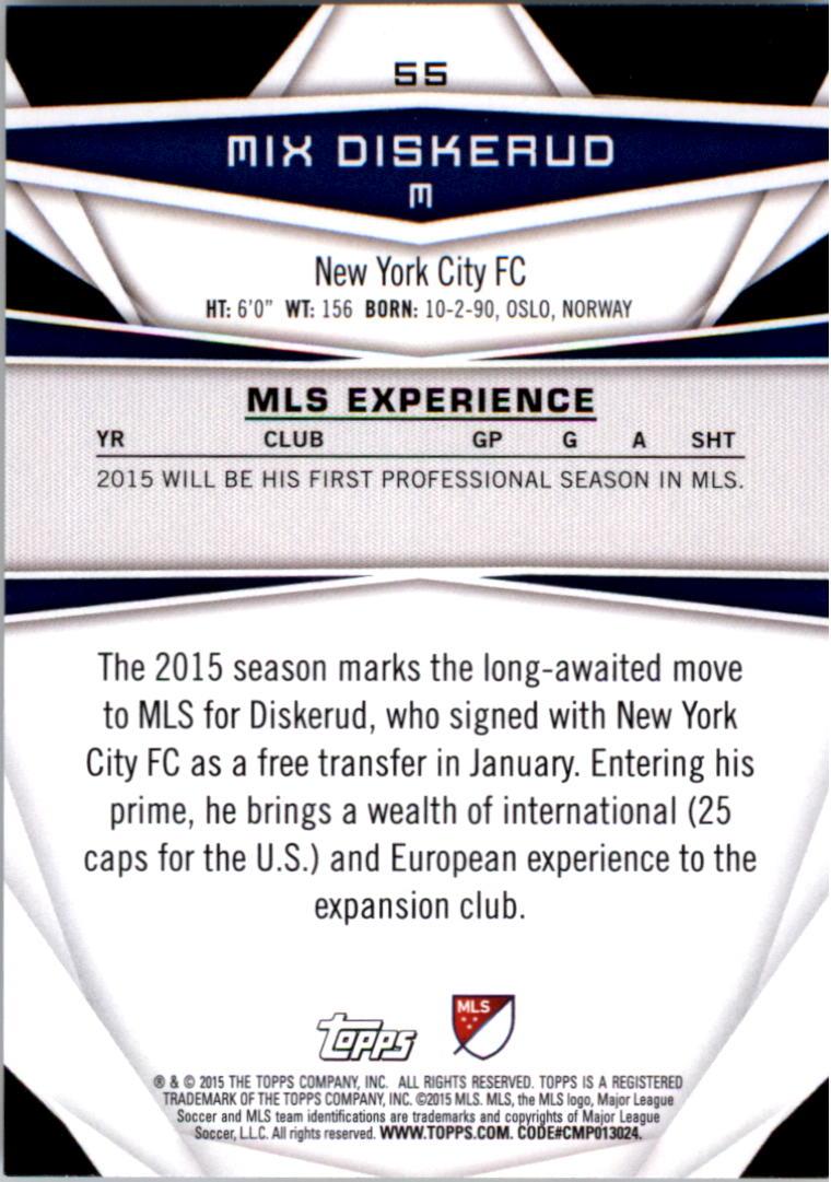 2015-Topps-MLS-Soccer-Base-Singles-Pick-Your-Cards thumbnail 75