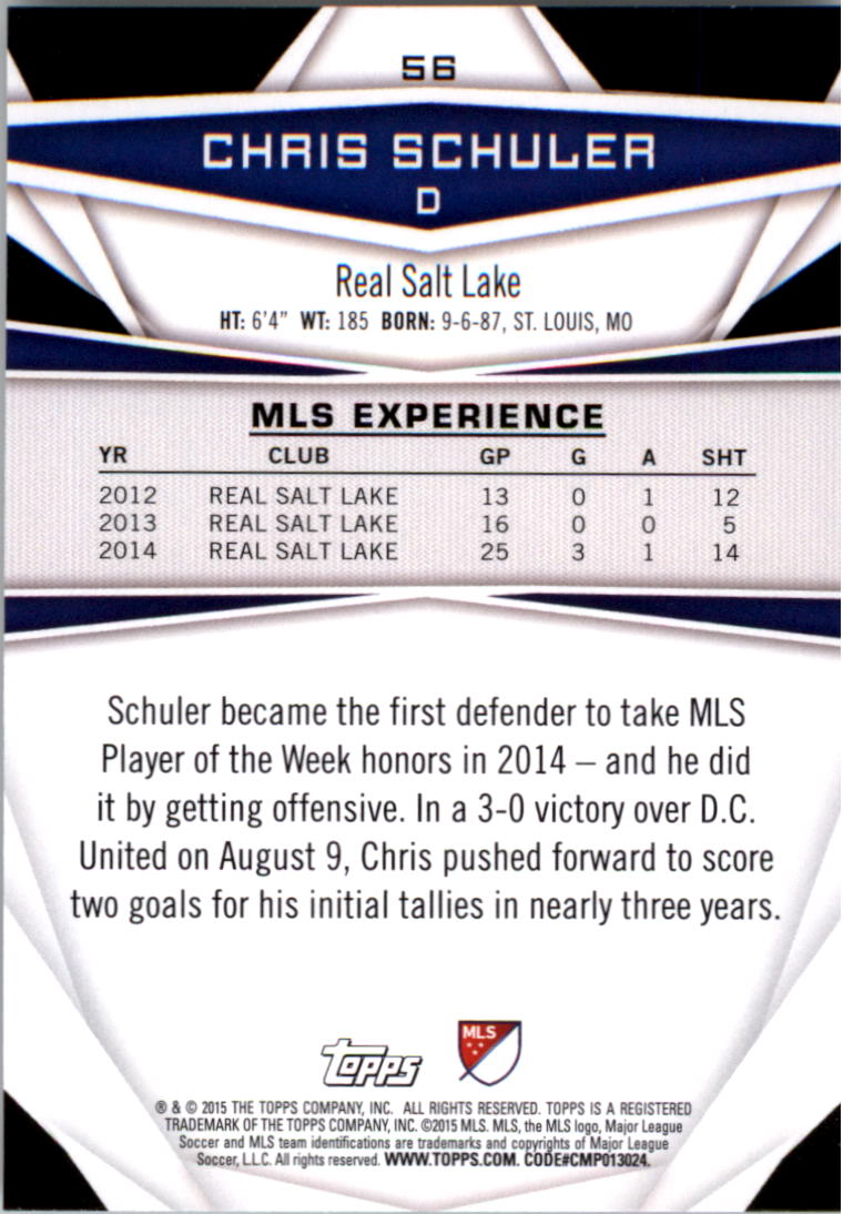 2015-Topps-MLS-Soccer-Base-Singles-Pick-Your-Cards thumbnail 77