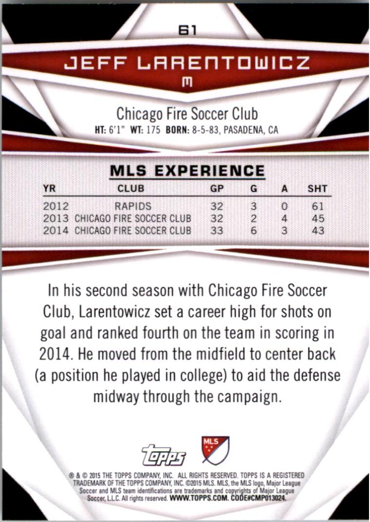 2015-Topps-MLS-Soccer-Base-Singles-Pick-Your-Cards thumbnail 85