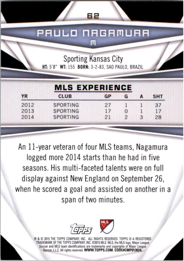 2015-Topps-MLS-Soccer-Base-Singles-Pick-Your-Cards thumbnail 87