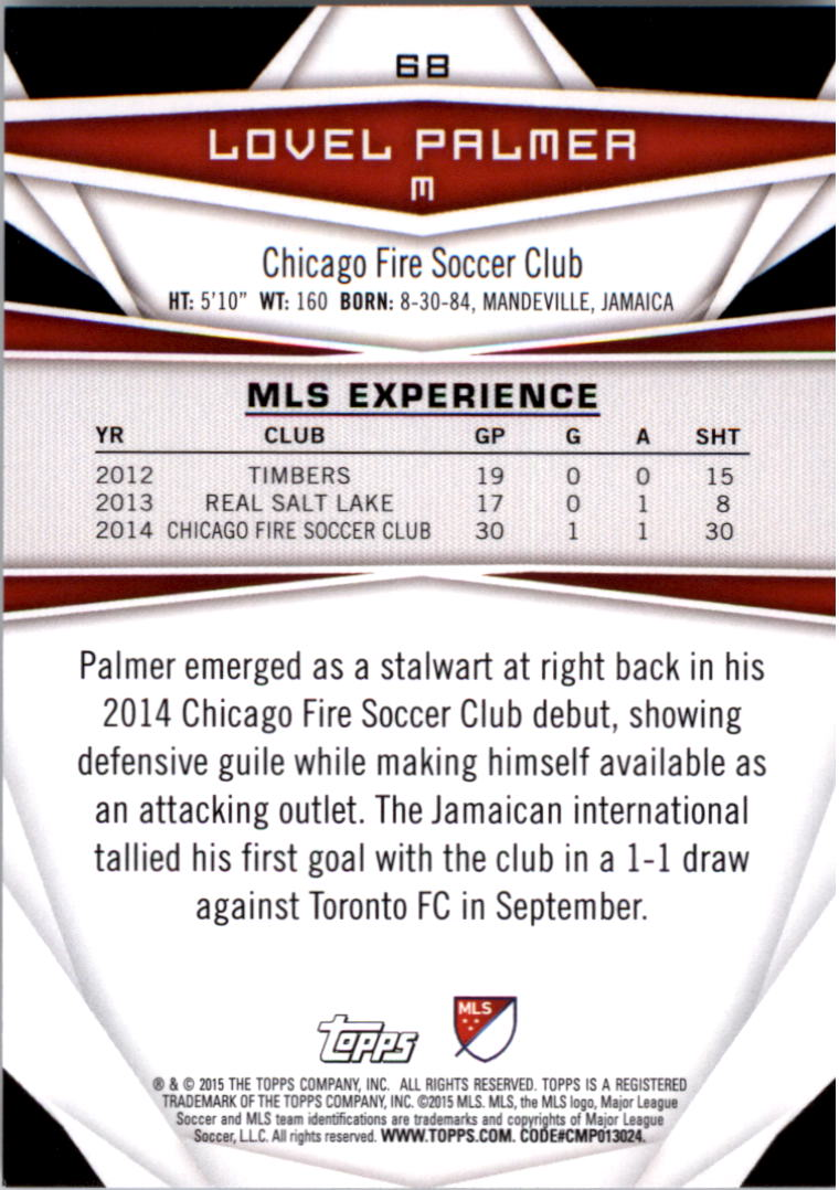 2015-Topps-MLS-Soccer-Base-Singles-Pick-Your-Cards thumbnail 93