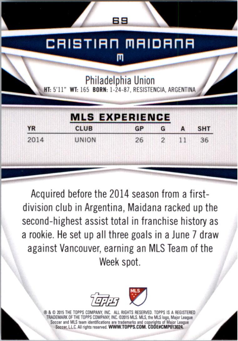 2015-Topps-MLS-Soccer-Base-Singles-Pick-Your-Cards thumbnail 95