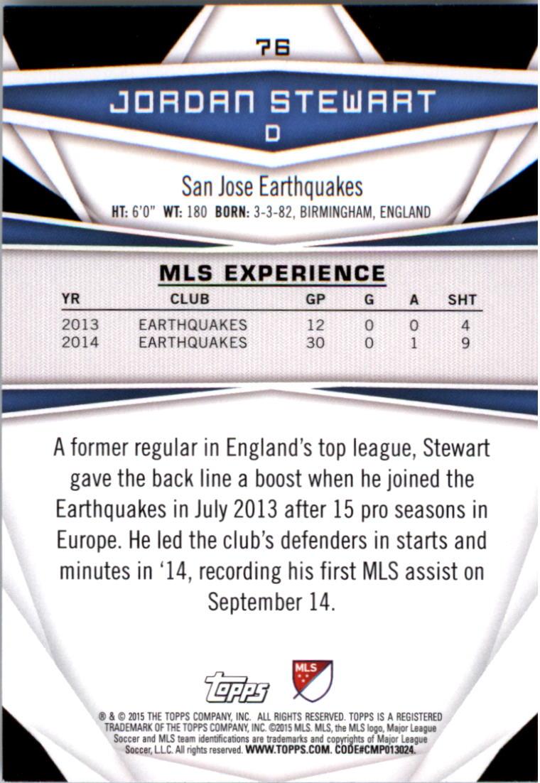 2015-Topps-MLS-Soccer-Base-Singles-Pick-Your-Cards thumbnail 107