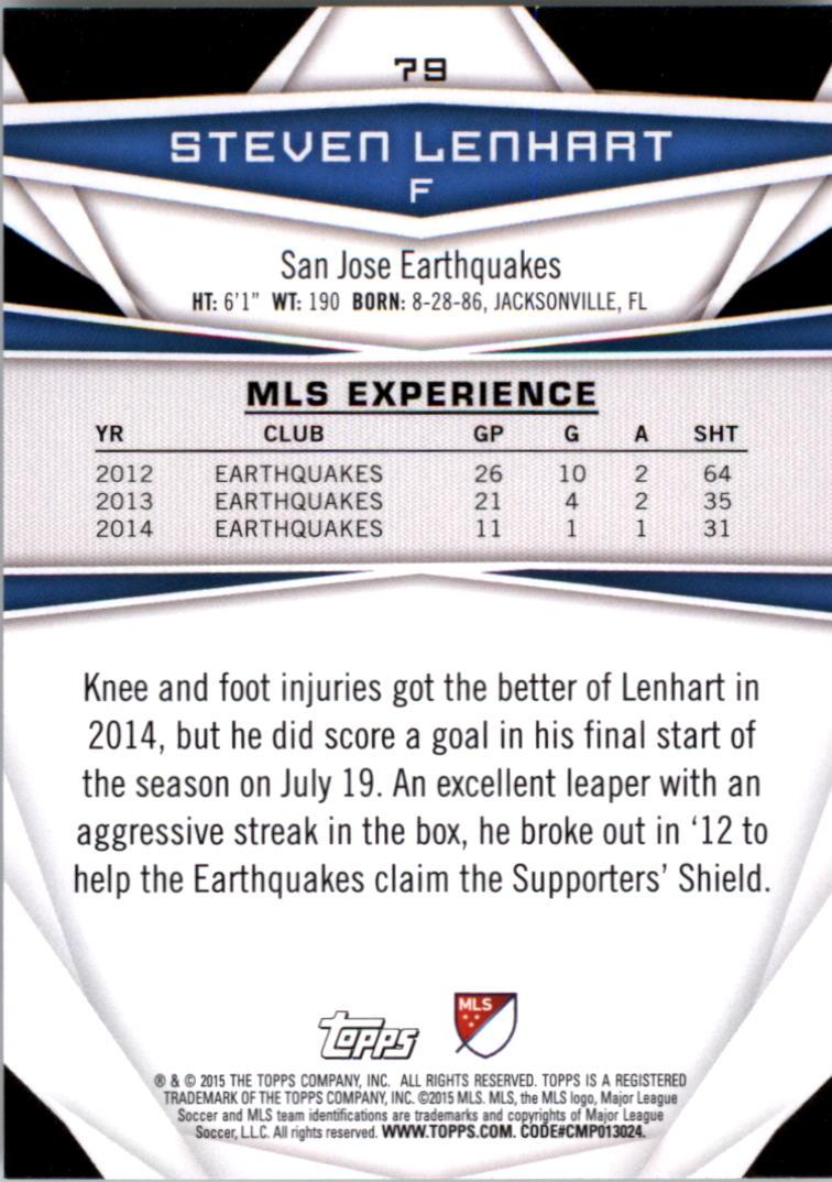 2015-Topps-MLS-Soccer-Base-Singles-Pick-Your-Cards thumbnail 113