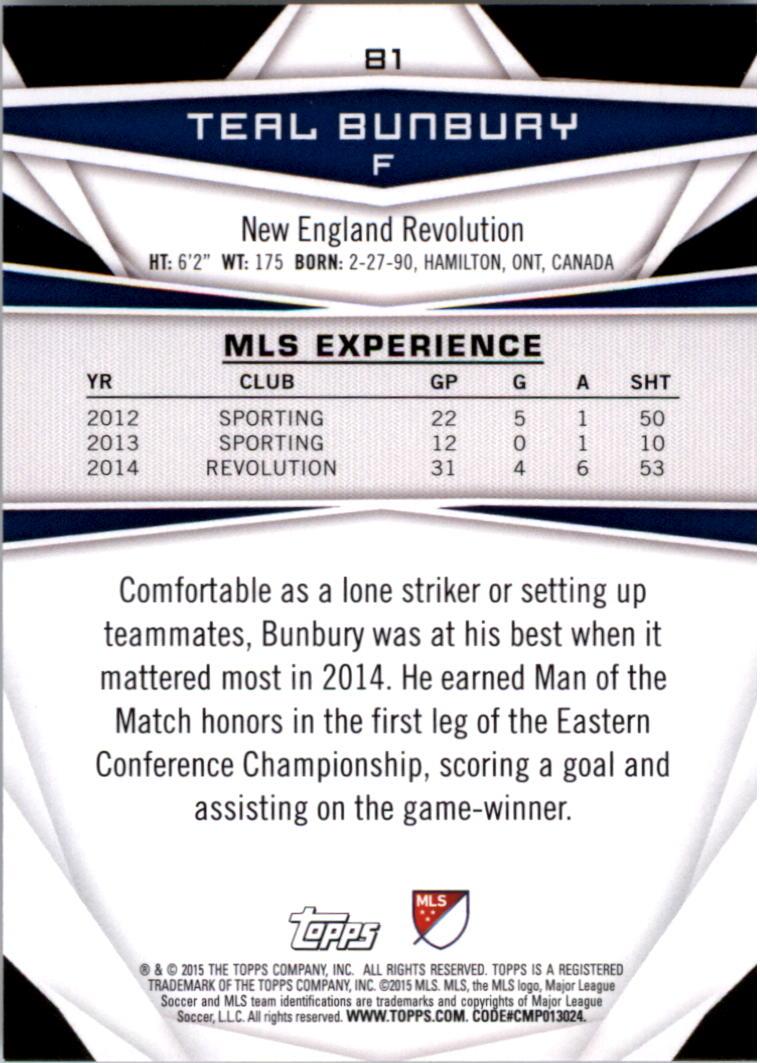 2015-Topps-MLS-Soccer-Base-Singles-Pick-Your-Cards thumbnail 117