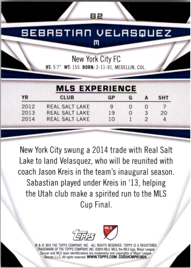 2015-Topps-MLS-Soccer-Base-Singles-Pick-Your-Cards thumbnail 119