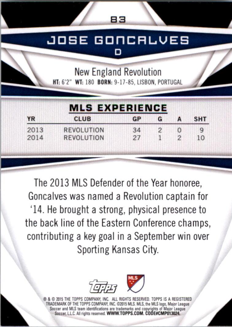 2015-Topps-MLS-Soccer-Base-Singles-Pick-Your-Cards thumbnail 121