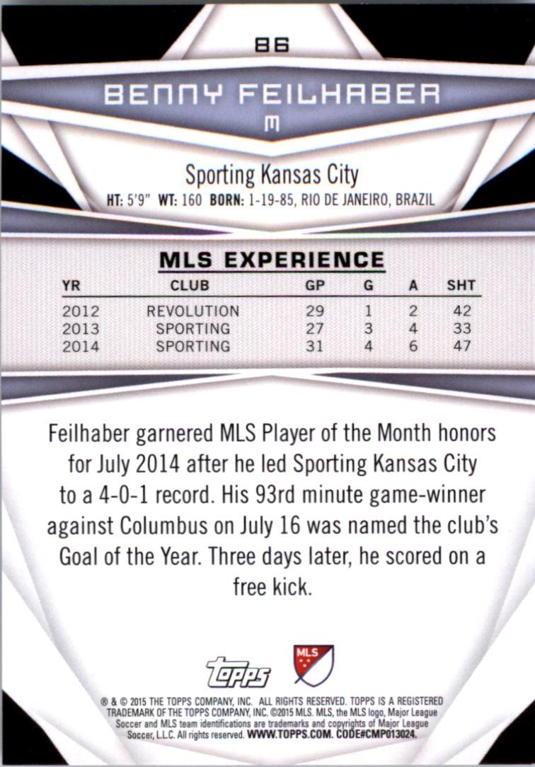 2015-Topps-MLS-Soccer-Base-Singles-Pick-Your-Cards thumbnail 125