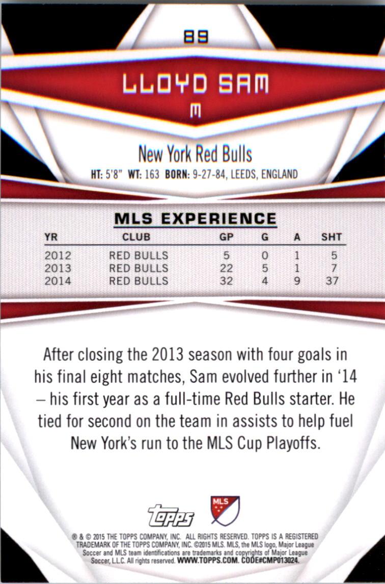 2015-Topps-MLS-Soccer-Base-Singles-Pick-Your-Cards thumbnail 131