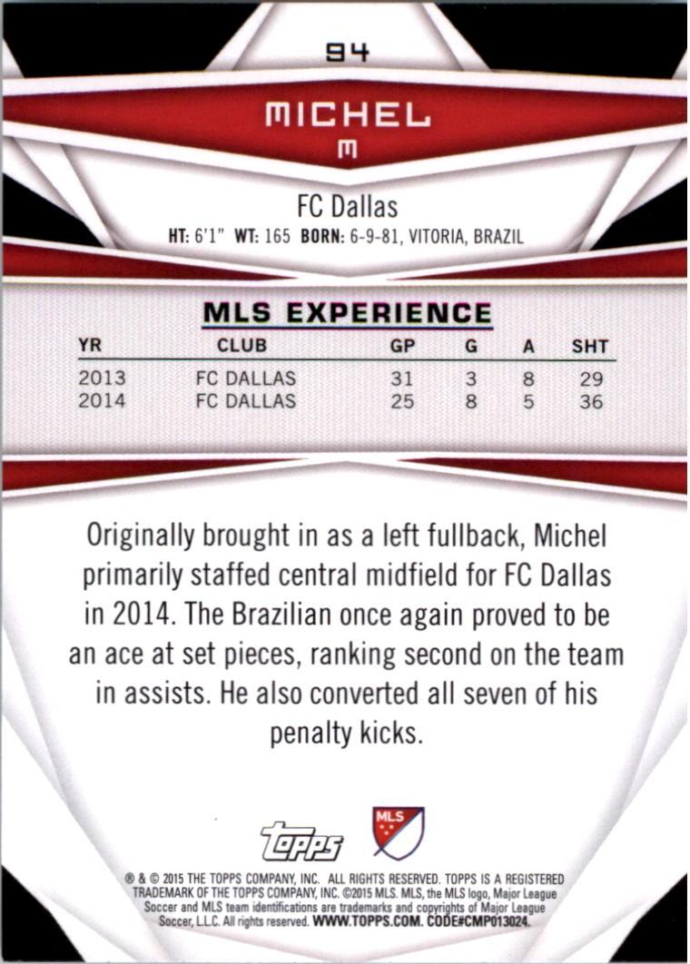 2015-Topps-MLS-Soccer-Base-Singles-Pick-Your-Cards thumbnail 140