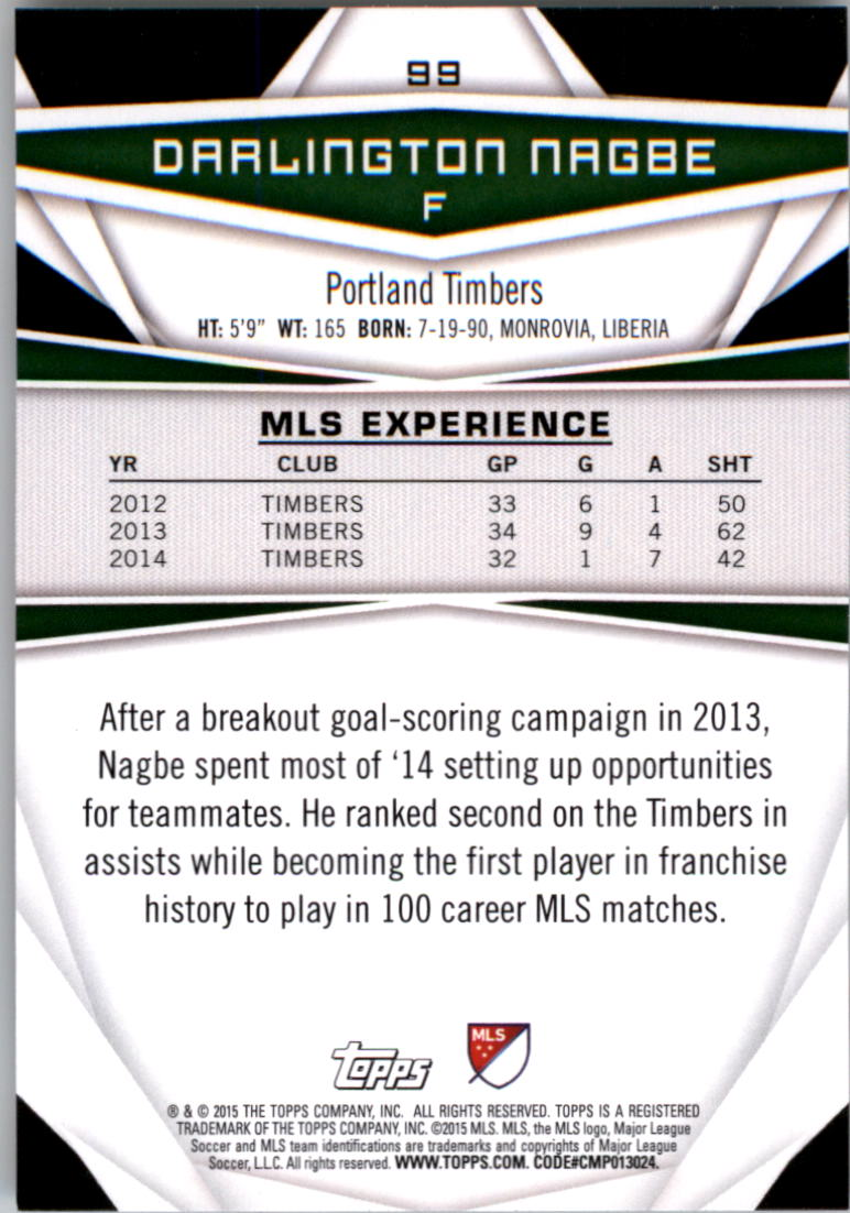 2015-Topps-MLS-Soccer-Base-Singles-Pick-Your-Cards thumbnail 144