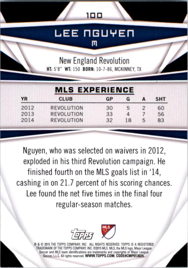 2015-Topps-MLS-Soccer-Base-Singles-Pick-Your-Cards thumbnail 146
