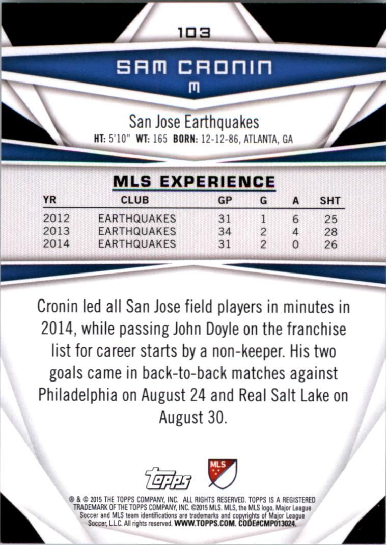 2015-Topps-MLS-Soccer-Base-Singles-Pick-Your-Cards thumbnail 150
