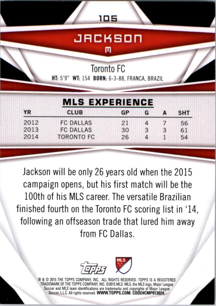2015-Topps-MLS-Soccer-Base-Singles-Pick-Your-Cards thumbnail 154