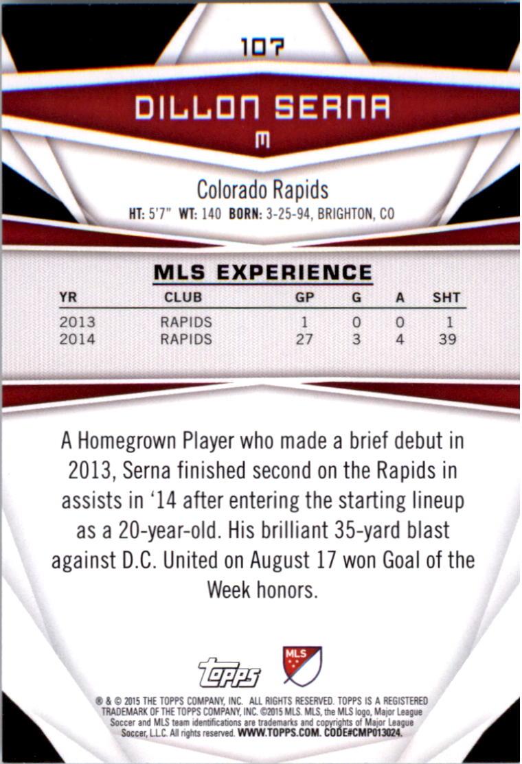 2015-Topps-MLS-Soccer-Base-Singles-Pick-Your-Cards thumbnail 158