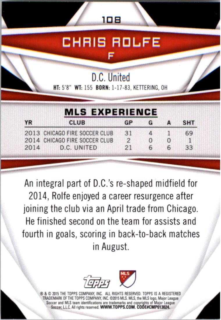 2015-Topps-MLS-Soccer-Base-Singles-Pick-Your-Cards thumbnail 160