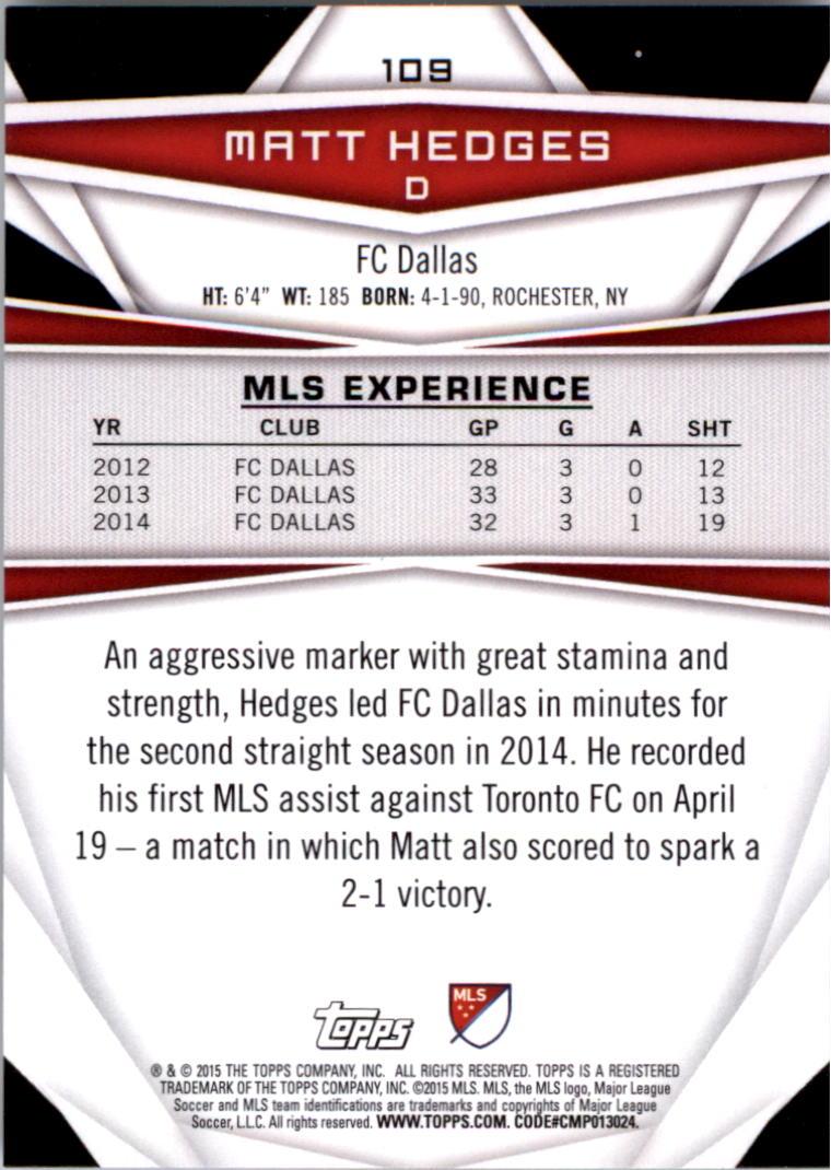 2015-Topps-MLS-Soccer-Base-Singles-Pick-Your-Cards thumbnail 162