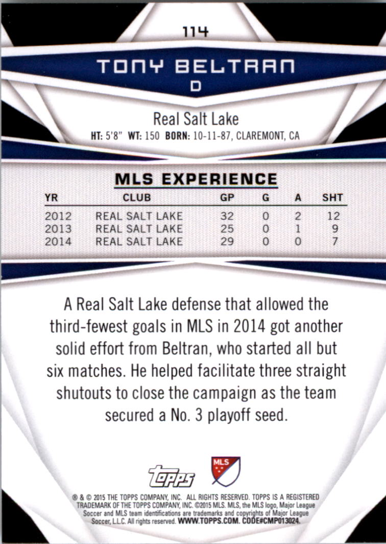 2015-Topps-MLS-Soccer-Base-Singles-Pick-Your-Cards thumbnail 168