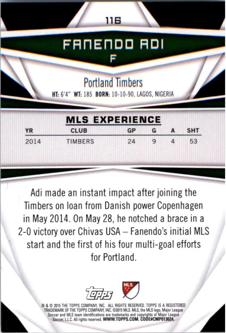 2015-Topps-MLS-Soccer-Base-Singles-Pick-Your-Cards thumbnail 170
