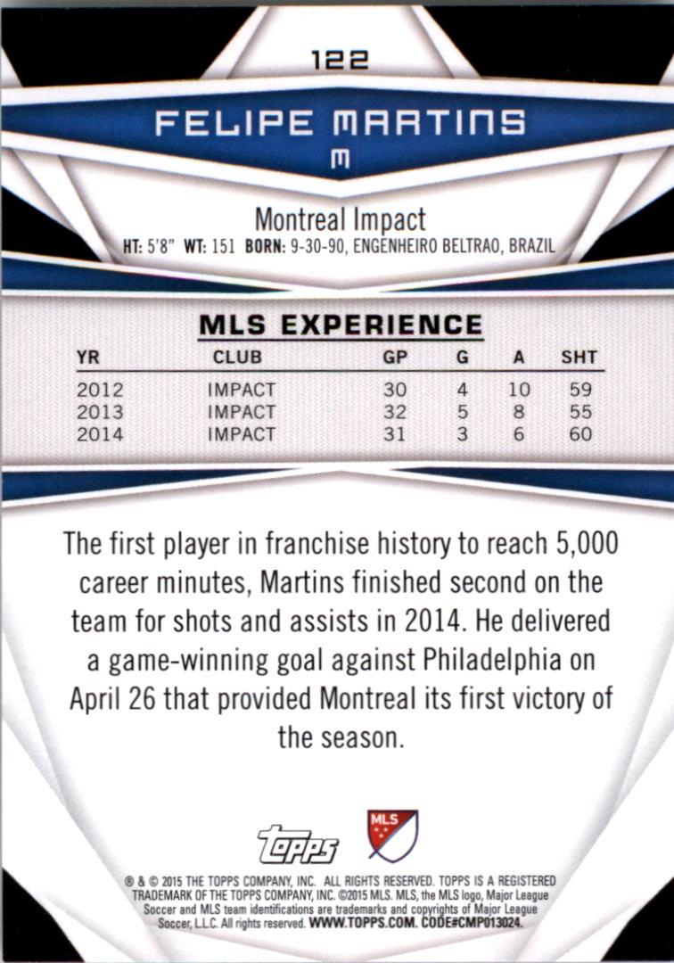 2015-Topps-MLS-Soccer-Base-Singles-Pick-Your-Cards thumbnail 174