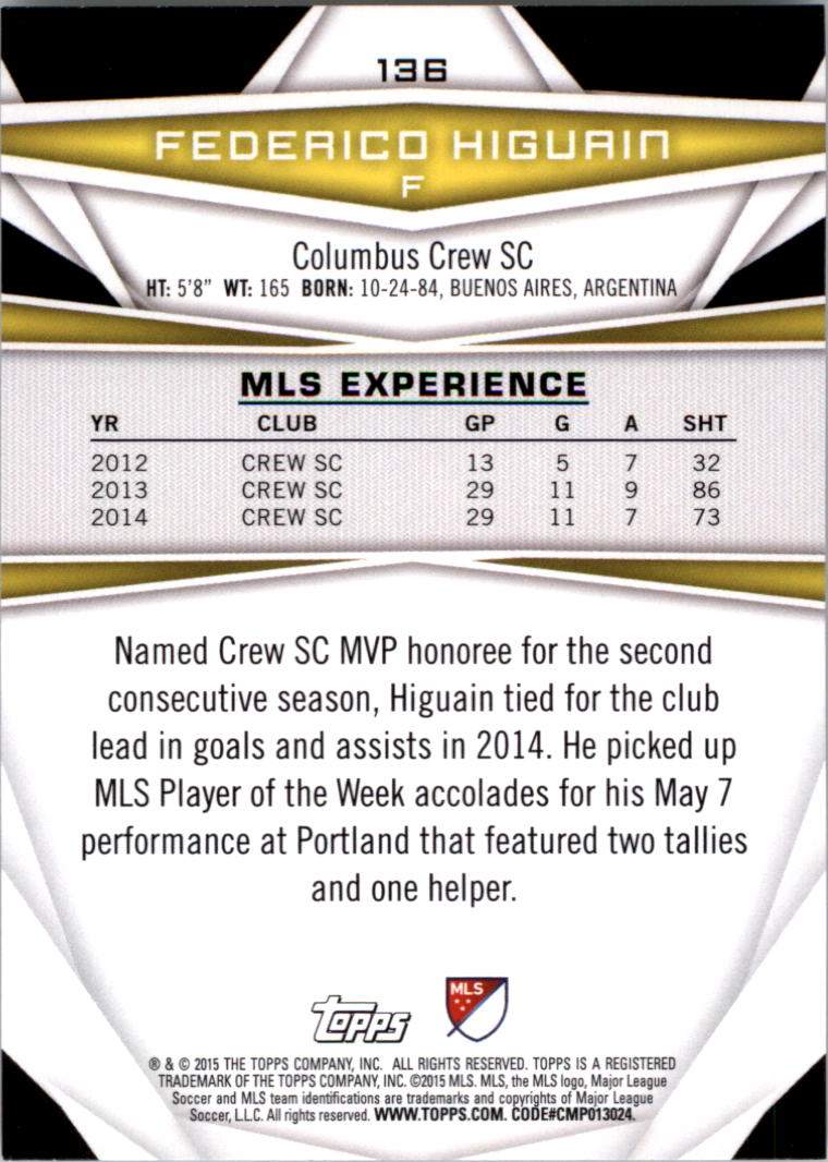 2015-Topps-MLS-Soccer-Base-Singles-Pick-Your-Cards thumbnail 199