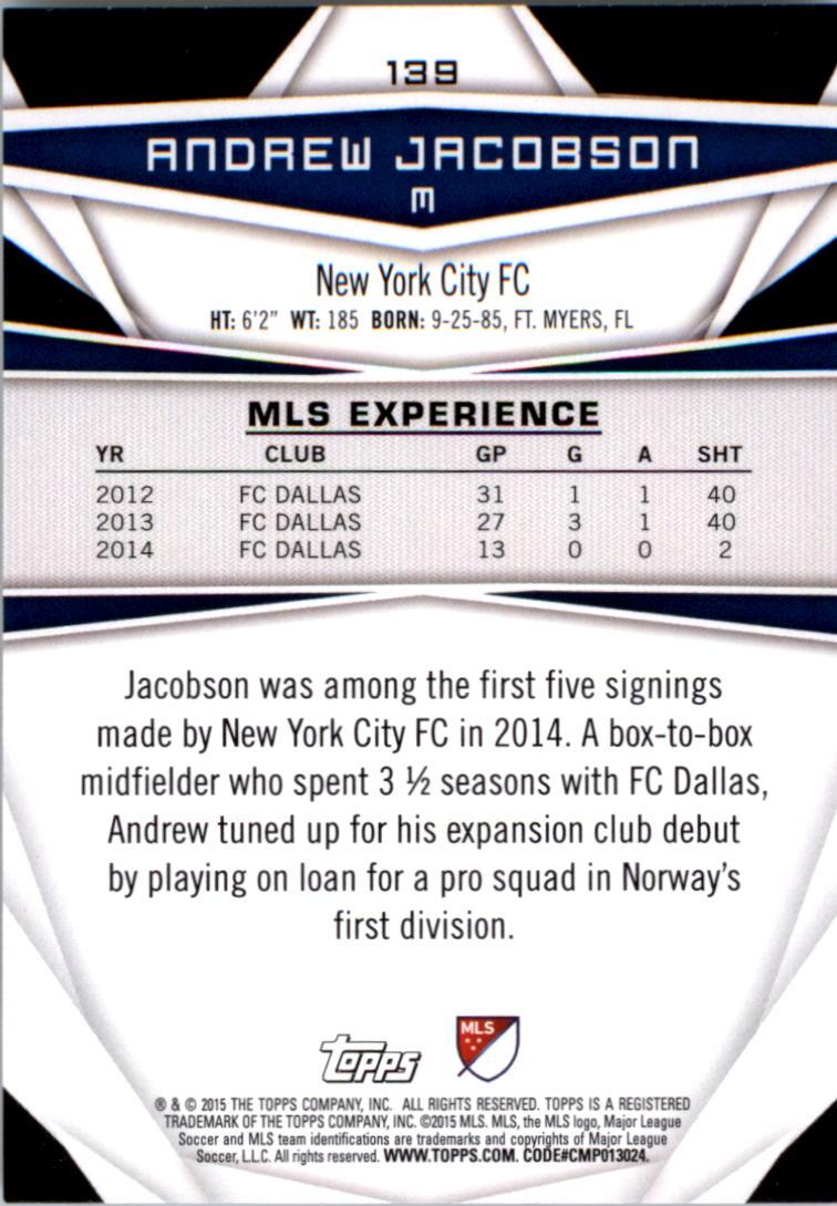 2015-Topps-MLS-Soccer-Base-Singles-Pick-Your-Cards thumbnail 205