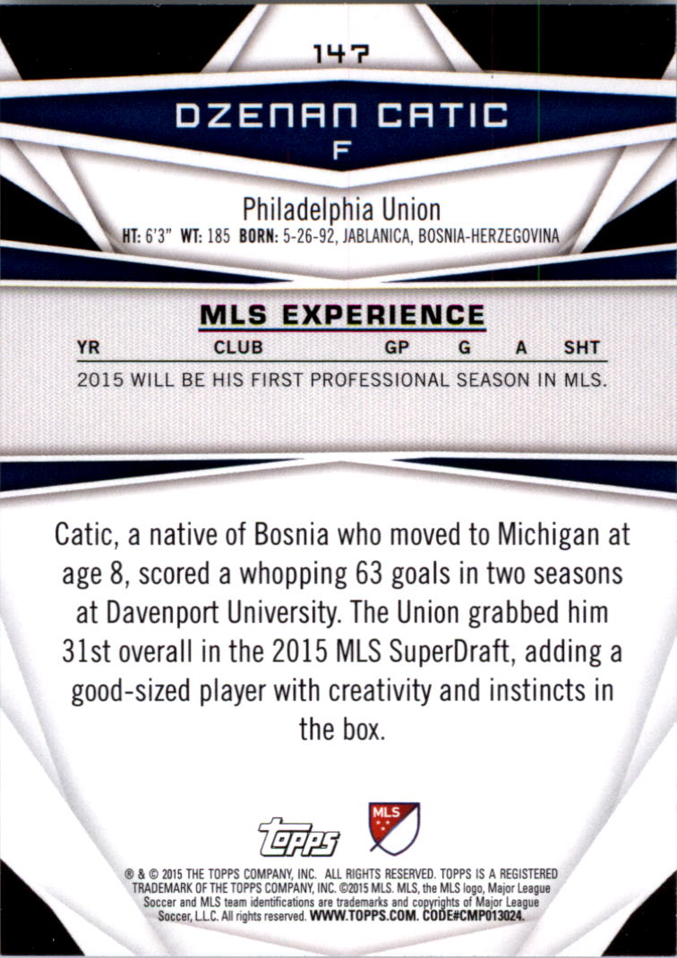 2015-Topps-MLS-Soccer-Base-Singles-Pick-Your-Cards thumbnail 214