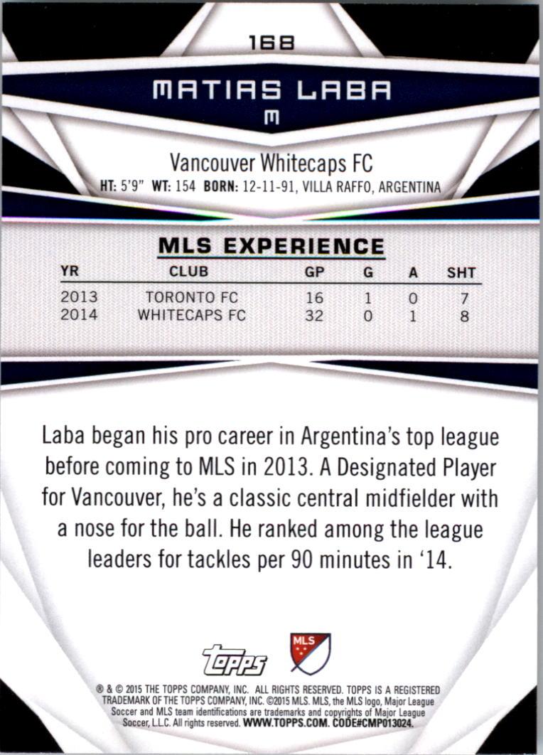 2015-Topps-MLS-Soccer-Base-Singles-Pick-Your-Cards thumbnail 234