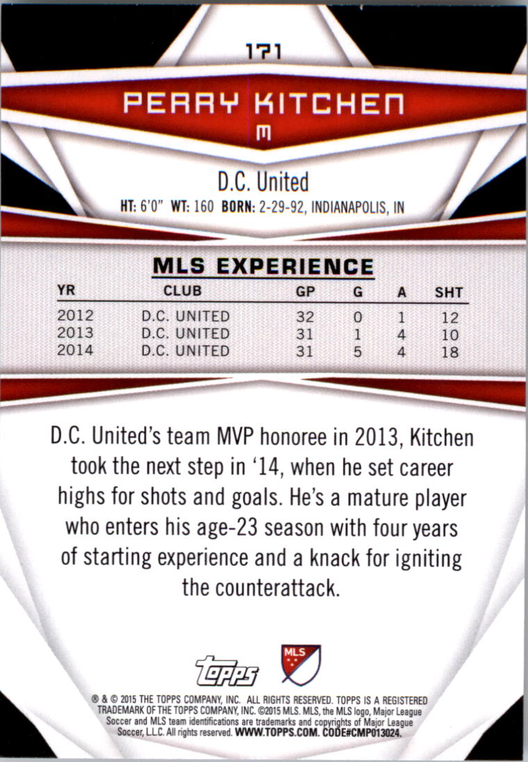 2015-Topps-MLS-Soccer-Base-Singles-Pick-Your-Cards thumbnail 239