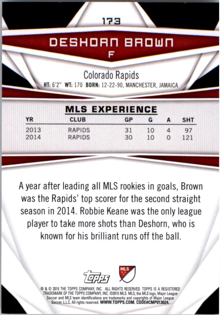 2015-Topps-MLS-Soccer-Base-Singles-Pick-Your-Cards thumbnail 243
