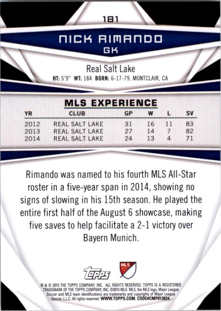 2015-Topps-MLS-Soccer-Base-Singles-Pick-Your-Cards thumbnail 254