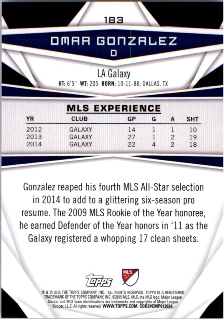2015-Topps-MLS-Soccer-Base-Singles-Pick-Your-Cards thumbnail 258