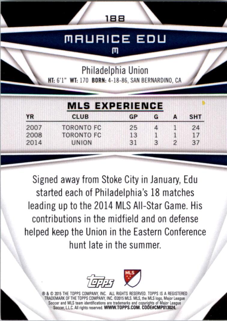 2015-Topps-MLS-Soccer-Base-Singles-Pick-Your-Cards thumbnail 264