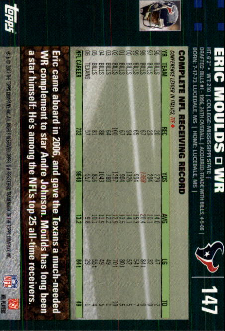 2007-Topps-Football-Base-Singles-117-223-Pick-Your-Cards thumbnail 61