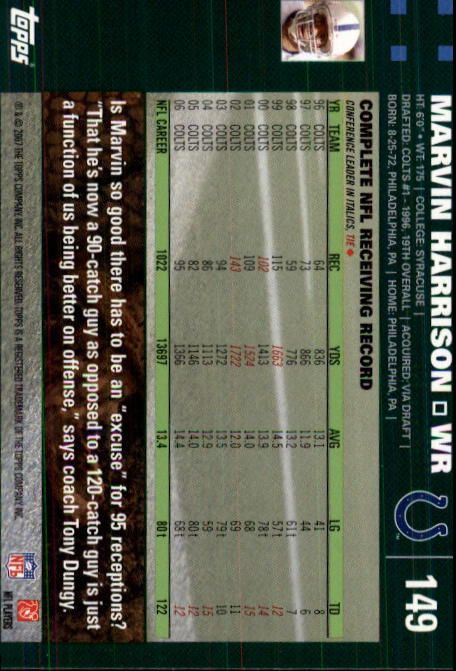 2007-Topps-Football-Base-Singles-117-223-Pick-Your-Cards thumbnail 65