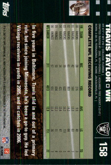 2007-Topps-Football-Base-Singles-117-223-Pick-Your-Cards thumbnail 81