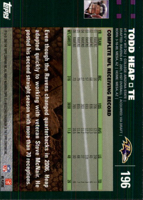 2007-Topps-Football-Base-Singles-117-223-Pick-Your-Cards thumbnail 151