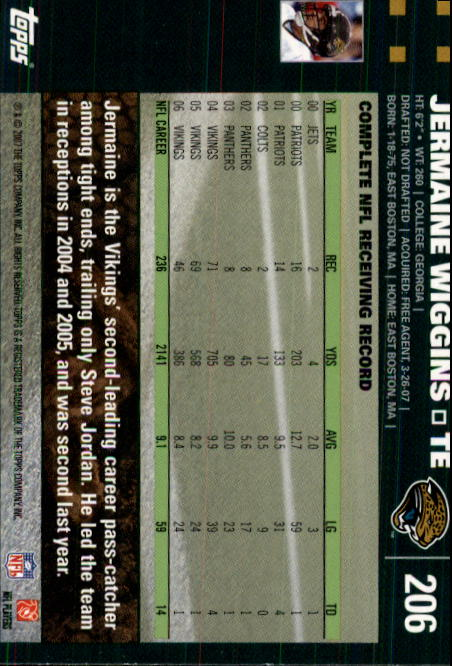 2007-Topps-Football-Base-Singles-117-223-Pick-Your-Cards thumbnail 169